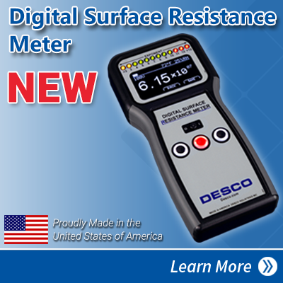 New Digital Surface Resistance Meter