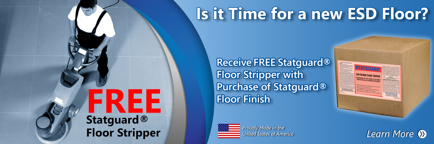 Floor Stripper Banner