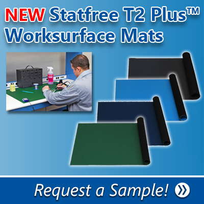 Statfree T2 Plus™ Dissipative Dual Layer Rubber
