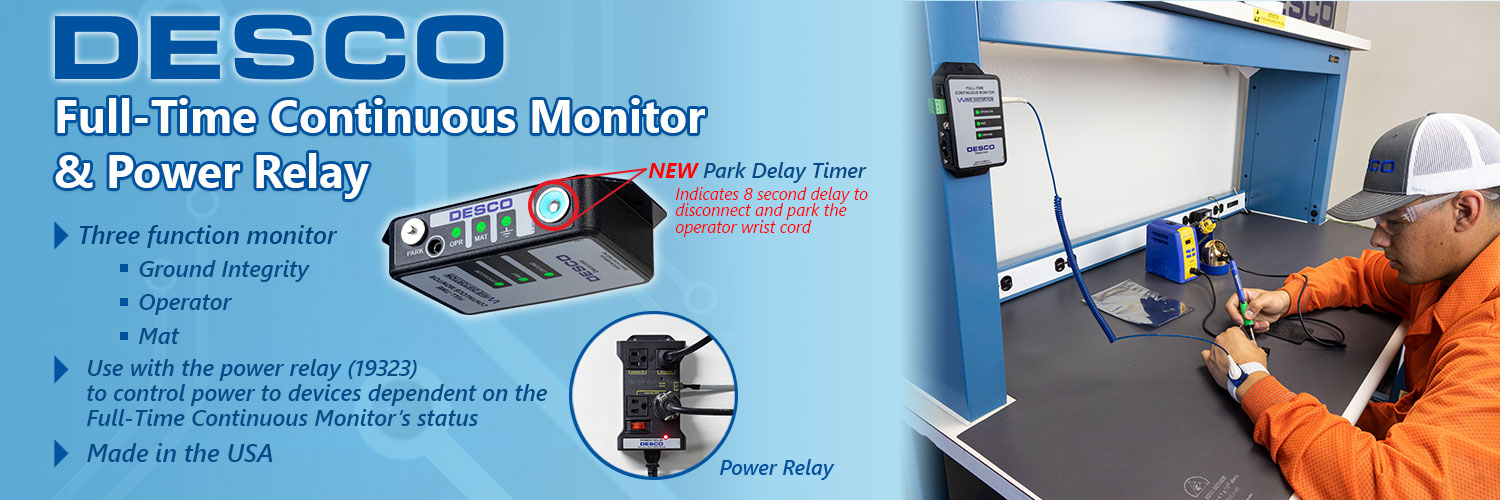 Full-Time Continuous Monitor & Power Relay