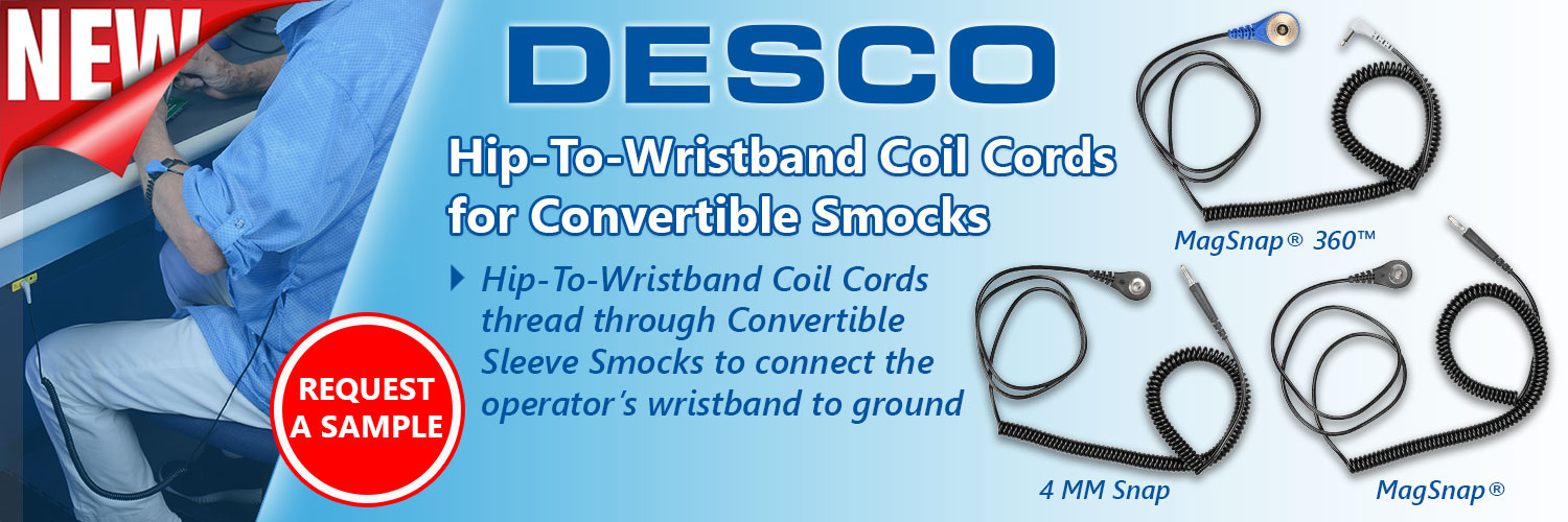 Hip-To-Wristband Coil Cords